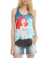 Disney The Little Mermaid Ariel Rock Wave Junior's Tank Top S, M, L, XL ... - $13.54