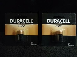 Duracell CR2 3V Lithium Battery 2-pack FREE SHIPPING - $11.57