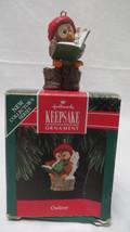Christmas Hallmark Keepsake 1992 Owliver Ornament #1 - $6.79
