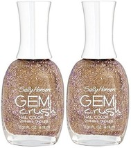Sally Hansen Gem Crush Nail Color #03 BIG MONEY (Pack of 2) Plus a Free ... - $15.67