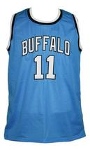Bob McAdoo #11 Custom College Basketball Jersey New Sewn Blue Any Size image 4