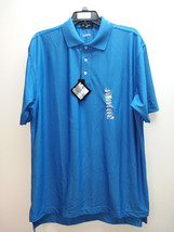 Byron Nelson Men's Performance Golf Polo Shirt, Dark Royal Blue, L - $44.55