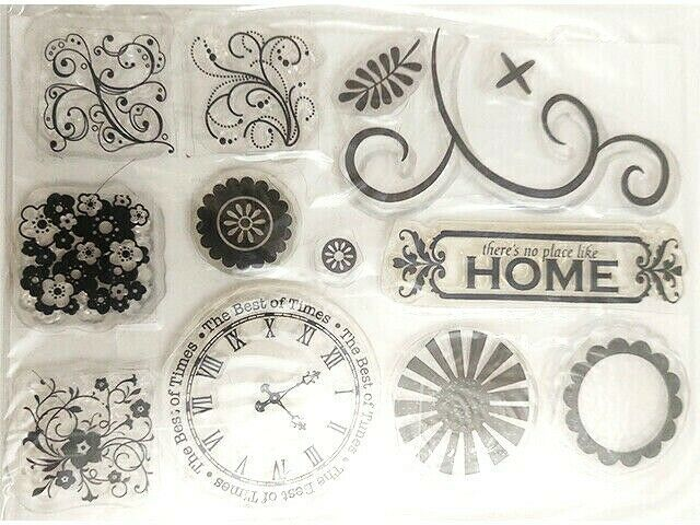 No Place Like Home Icons Clear Stamp Set