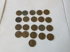 Wheat Penny , Mixed Lot of 21 - $3.25