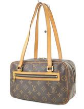 Authentic LOUIS VUITTON Cite MM Monogram Canvas Shoulder Hand Bag Purse ... - $429.00