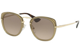 Prada Sunglasses PR58US 31D3D0 Brown Frame W/ Brown Gradient / Grey Lens - $108.89