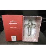 "Hallmark Keepsake ""Radiant Cross"" 2017 NEW Glass & Metal Ornament  - $23.51"