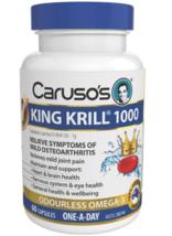 Carusos Natural Health King Krill 1000MG 60 Capsules - $428.04