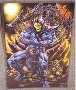 Masters Of The Universe Skeletor Glossy Art Print 11 x 17 In Hard Plasti... - $24.99
