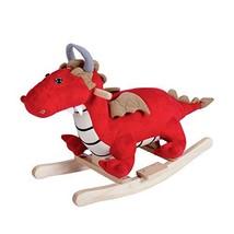 Peach Tree Rocking Horse Dragon Rocker Horse Toy Child Rocking Horse Kid... - $44.14