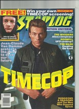 2 issues of STARLOG  #206 and #208  Puppet Master Timecop  - $5.93