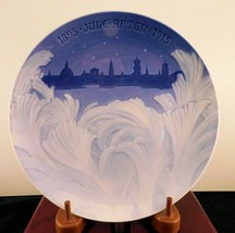 "Bing & Grondahl Jubilee Christmas Plate ""Frozen Window"" - 1915 - £36.65 GBP"