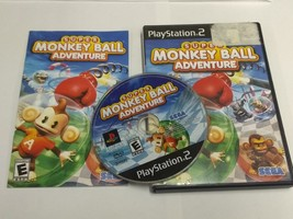 PS2 - Super Monkey Ball Adventure - Complete PlayStation 2 Game - $6.99