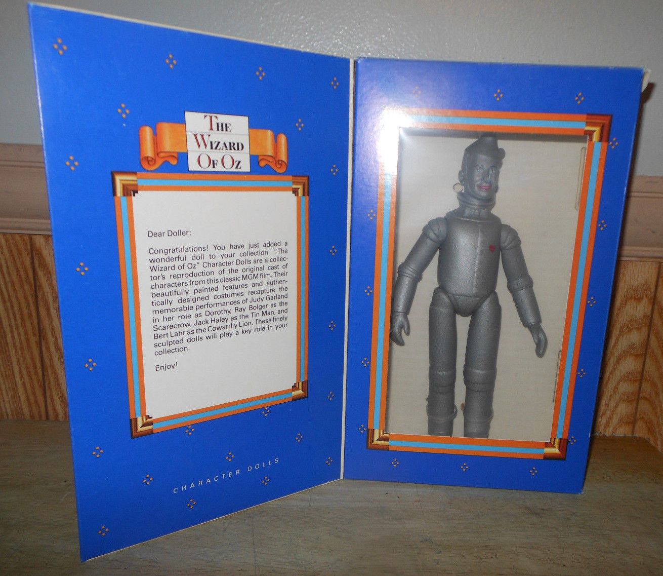 Primary image for 1986 Ideal TIN MAN Wizard of Oz Character Doll Limited Edition New in Box