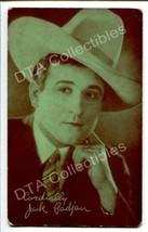JACK PADJAN-SILENT FILM STAR-1920s ARCADE CARD G - $16.30