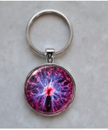 Plasma Ball Electricity Tesla Science Physics Engineering Keychain - $14.00+