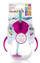 Munchkin Click Lock 7-Ounce Weighted Straw Flexi Cup Pink - $14.34