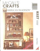 McCall's 8327 Home Decor Pillows, Stockings & Wall Hanging UNCUT FF - $8.47