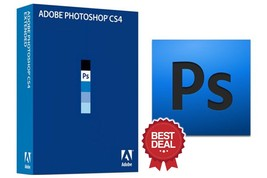 ADOBE PHOTOSHOP CS4 FULL VERSION - ONLY FOR WINDOWS - PRE ACTIVATED - $30.00