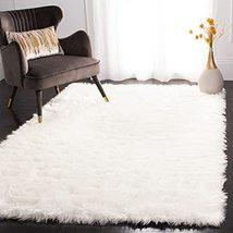 Safavieh Faux Sheep Skin Collection FSS235A Silken Glam 2.35-inch Thick ... - $120.00