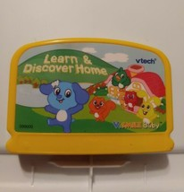 Vtech V Smile Baby Learn And Discover Home Game Cartridge - $5.23