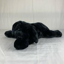 "Folkmanis Black Labrador Lab Puppy Dog Full Body Hand Puppet Plush 20"" S... - $49.49"