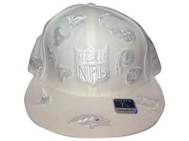 National Football League All Teams Reebok Fitted White 55 - $39.50