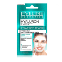 Eveline HYALURON EXPERT ULTRA MOISTURISATION IMMEDIATELY SMOOTHING MASK ... - $1.85