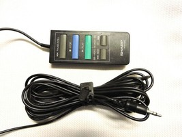 Sharp RRMCK0058GEZZ K0058G Vcr Remote For VC581U, VC5815U, VC581, VC5815 B10 - $19.95