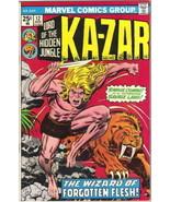Ka-Zar Lord of the Hidden Jungle Comic Book #12 Marvel Comics 1975 FINE - $2.99
