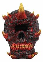 Ebros El Diablo Hell Inferno Fire Cyclops Skull Statue Greek One Eyed Demon with - $27.49