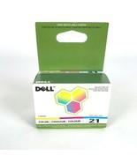 Dell Serie 21 Y499D Color Cartucho de Tinta Auténtico OEM - $35.03