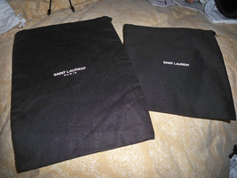 Set of 2  SAINT LAURENT  Protective SLEEPER Storage Travel 7x10 &6x7 DUS... - $17.81