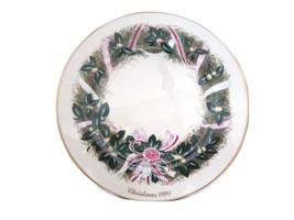 Lenox 1991 Colonial Christmas Wreath Collector Plate South Carolina 11th... - $37.61