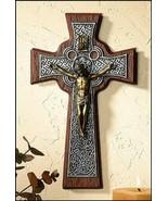 "10"" Resin Celtic Crucifix - $33.61"