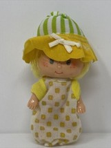 1980's Vintage Butter Cookie Strawberry Shortcake Doll with hat and outf... - $19.79