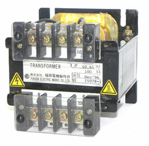 NEW FUKUDA ELECTRIC 15078-1 TRANSFORMER 150781, 100VA image 2