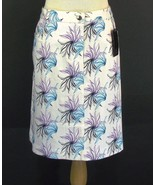 TITANIA Australia Size US 12, AU 16  New Straight Floral Skirt Golf NWT - $12.99