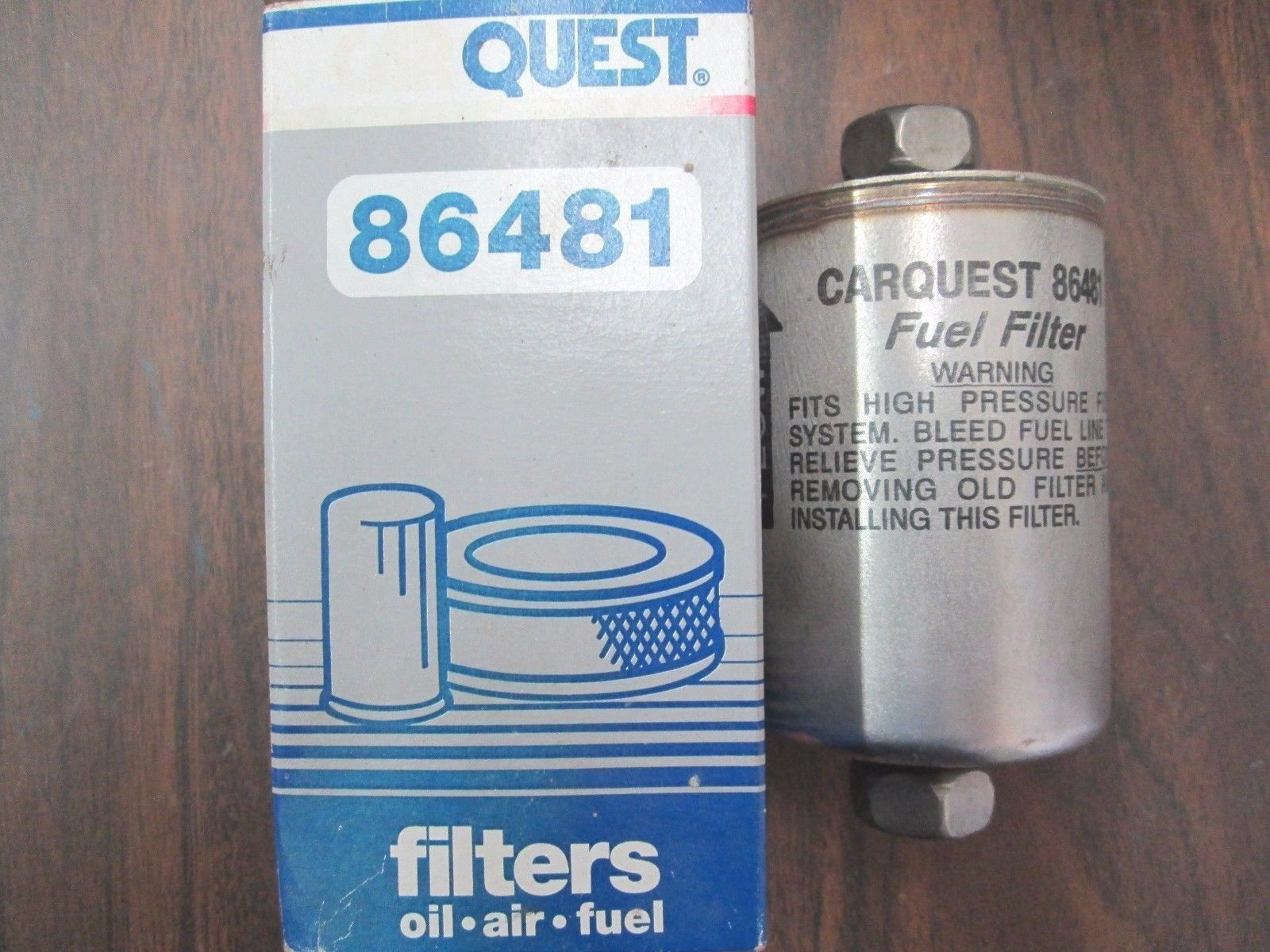 Primary image for 86481, Carquest, Filter