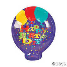 Cool Fun 13668587 Paper Birthday Fun Dessert Plates  - $2.61