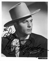 "George Montgomery (d. 2000) Signed Autographed Glossy 8x10 Photo ""Hi Dia... - $34.64"