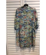 Polo Ralph Lauren Big and Tall Mens Hawaiian S/S Button-Front Shirt NWT 3XB - $55.86