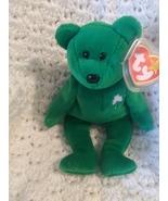 Erin the bear St. Patricks Day beanie baby 1997 Retired  - $2,600.00