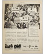1949 Print Ad Body by Fisher General Motors Customers Flock to New Car S... - $14.83