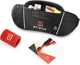 Strevis Running Belt for Phone Mens and Womens Waist Pack for Workout, Jogging,