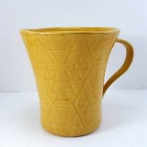 Lenox Desert Flora Goldenrod Mug 12oz Cup Yellow Southwestern Coffee Tea - $15.84