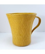 Lenox Desert Flora Goldenrod Mug 12oz Cup Yellow Southwestern Coffee Tea - $15.84