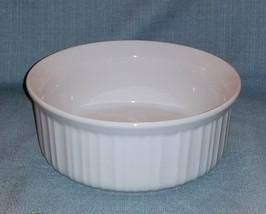 Corning Ware FRENCH WHITE 1 1/2 QT / 1.4L CASSEROLE No Lid -Stoneware- EUC - $6.95