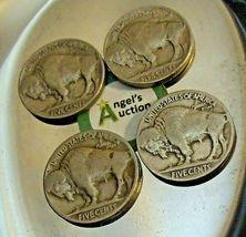 Buffalo Nickel 1930 P, 1934 D, 1936 P and 1937 P AA20BN-CN6099 image 9