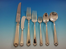 George II by Watson Sterling Silver Flatware Service for 8 Set 56 pieces - $3,395.00